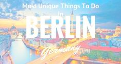 There are diverse beautiful places in Germany that attract numerous tourists every year. However, Berlin is one of the most wonderful places in the world, so you cannot afford to overlook it when visiting this country. The city is a fountain of rich history, culture and modern elements, packaged into an exquisite travel haven.