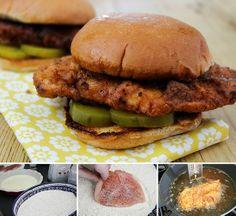 Chick Fil A Copycat Sandwich