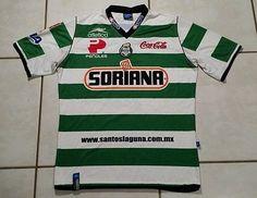 Rare Vintage ATLETICA Club Santos Laguna Mexico  2006 Soccer Jersey Men's XL