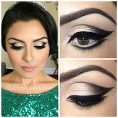 lovely eye makeup @beitrisk