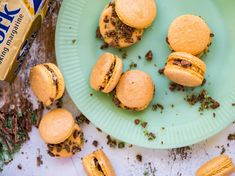 Chewy caramel goodness paired with a South African favourite! Caramel Peppermint Crisp Macarons will take you straight to dessert heaven.