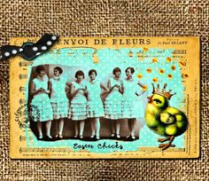 Wendylynn's Paper Whims: Easter Chicks Tag