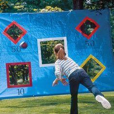 outdoor games 9 DIY backyard games you should get into today photos) Ideas Geniales, Outdoor Play, Outdoor Living, Party Outdoor, Outdoor Party Games Kids, Family Outdoor Games, Church Picnic Games, Outside Party Games, Outdoor Activities For Adults