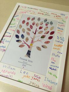 A farewell gift for a teacher                                                                                                                                                      More