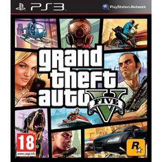 PS3 Grand Theft Auto 5  Speel met maar liefst drie hoofdpersonages in Grand Theft Auto V voor de PlayStation 3! Speel bijvoorbeeld als de Latijns-Amerikaans Albert de Silva die ooit lid was van een misdaadfamilie in Vice City.  EUR 20.99  Meer informatie