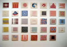 Louise Bourgeois,  cloth book pages