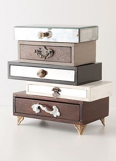 Topsy Turvy Jewelry Box by Anthropologie