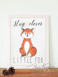 Woodland Fox, Hedgehog, Deer, Squirrel, Raccoon, Owl all together  Price includes 6 print on fine art paper. Chose which size would you like to order.  This Woodland Animal aquarel print would look beautiful in a white or rustic frame and hung in a babys nursery or playroom!  Ideal for a baby shower, baby dedication or christening, birthday, or as a finishing touch for your own little ones room. It will add a warm feeling to any home decor. For more pictures check our website: http:/...