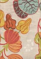 """Denver Fabrics Lovely Fiesta Floral Drapery Fabric by Braemore 56""""w 27"""" repeat vertical; 9.85 per yard sale"""