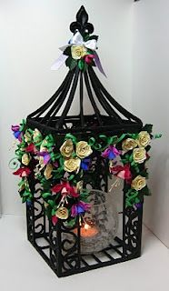 quilled gazebo - by: Appelquilling