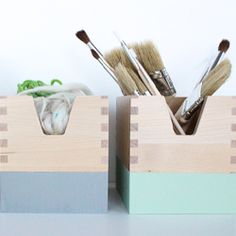 Two simple Ikea hacks for spicing up everyday organization.