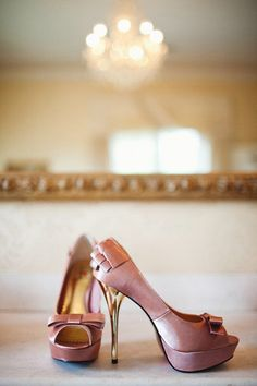 awesome pair of wedding shoes