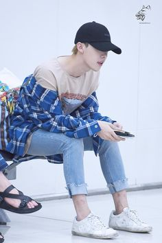 #jinwoo #winner #korean #airport #fashion
