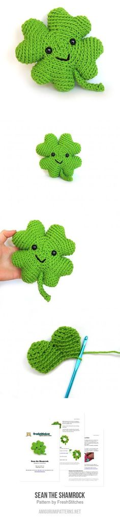 Sean The Shamrock Amigurumi Pattern