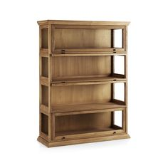 Atticus 4-Piece Barrister Bookcase  | Crate and Barrel