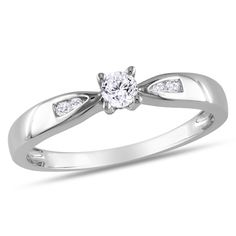 I like this for an engagement ring. Simple but elegant.