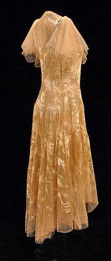 1930 - Vionnet - oh i love this vintage dress!