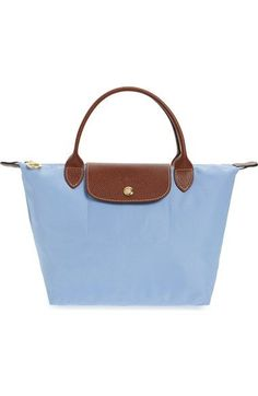 LONGCHAMP  Mini Le Pliage  Handbag.  longchamp  bags  leather  hand bags   nylon  tote  lining   bf966110efaf5