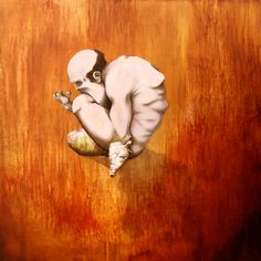 Gluttony: Ironic despair of the Consumed man: Calamities of Fervor Series