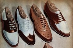 leather Oxford Shoes material