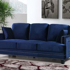 You'll love the Roberta Velvet Chesterfield Sofa at Wayfair - Great Deals on all Furniture products with Free Shipping on most stuff, even the big stuff.