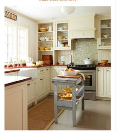 Budget Kitchen Remodeling: Under $5,000 Kitchens   Kitchens, Wood Counter  And White Cabinets