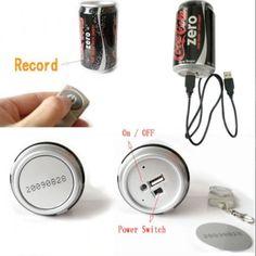 Coke recorder