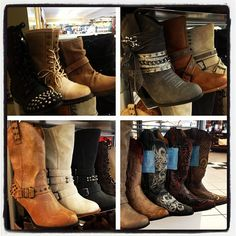 ♥♥  saw these at Buckle today... love the grey!