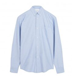 OUR LEGACY 1940'S OXFORD SHIRT. Light Blue. £110.00
