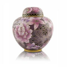 Floral Blush Infant Cremation Urn for Ashes - Xtra Small