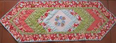 Paisley Parade -Moda Ruby Braided Table Runner     Paisley Parade -Moda Ruby Braided Table Runner 2  I have just completed the tutorial fo...