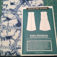 I've decided on this selection  for the #sewtogetherforsummer #shirtdress event.  Probably view B without the pockets. Dreaming of summertime ☀️ #grainlinestudio #aldershirtdress #needleworkhamiltongrainlinestudio,sewtogetherforsummer,shirtdress,aldershirtdress,needleworkhamiltonnmoodsewing