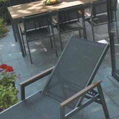 Gloster Luna Dining Set Sleek, modern styling is the hallmark of ...