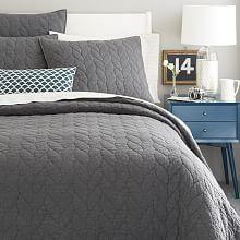 Organic Cotton Matelasse Coverlet In Subtle Diamond Stitch Design. | Organic  Quilts, Coverlets | Pinterest | Website