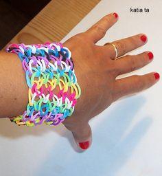 elastic looms, dragon scale bracelets