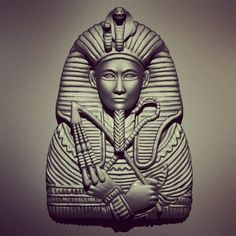 It's only in the dark that you can see the stars , and also escape from the ugliness of life by creating beauty .#art #passion #beauty #sculpt #zbrush #pharaoh #king #egypt #3dprint #3dwax #3d