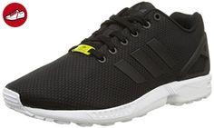 adidas Originals ZX Flux, Herren Sneakers, Schwarz (Core Black/Core Black/White), 48 EU (12.5 Herren UK) - Adidas sneaker (*Partner-Link)