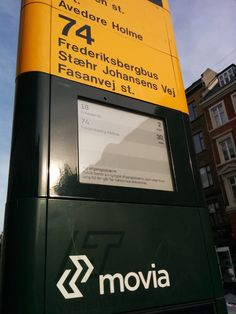Copenhagen ePaper on busstops by colleague david E Paper Display, Bus Stop, All Over The World, Copenhagen, David, Design