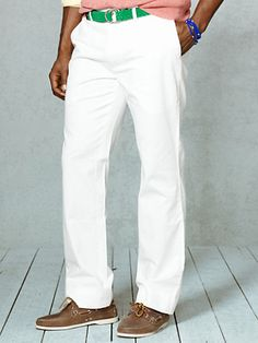 Classic-Fit Chino Pant