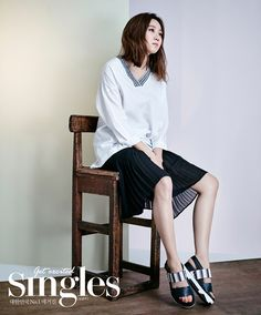 Gong Hyo Jin Covers Singles' May 2015 Issue | Couch Kimchi