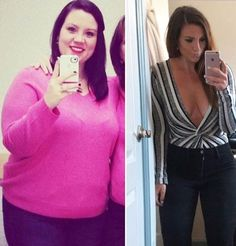 Katy's 75-Pound Weight-Loss Journey Started By Ditching Soda