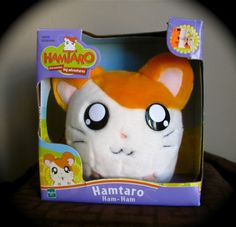HAMTARO PLUSH HAM-HAM HAMSTER ABOUT ANIME KAWAII BRAND NEW NIB! Stuffed Animal