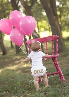 first birthday one bloomers