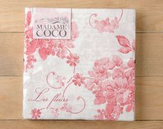 Madame Coco - Red Roses Napkins