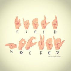 Forget about field hockey! Its all about ice hockey