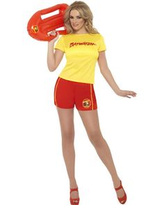 Baywatch Beach Womens Costume Perfect For A Summer Party Fancy Dress