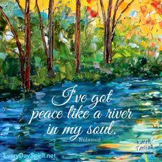 Peace. Joy. Love. For the app of beautiful wallpapers ~ www.everydayspirit.net xo #peace #karentarlton