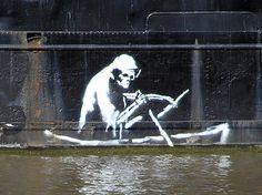 Banksy: Arte callejero hecho graffiti | Antidepresivo