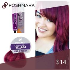 Pravana ChromoSilk Wild Orchid Semi Permanent ChromaSilk VIVIDS are the most vibrant, long-lasting colors. These Semi-permanent colors and are applied directly to clean, dry, pre-lightened hair and is not mixed with any developer.   Want to bundle more Pravana vivid tubes? I have a wide range of inventory in stock.  Vivids Colors* Red Violet Blue Green Pink Magenta Wild Orchid Yellow  Neon Colors* Neon Pink Neon Orange Neon Yellow Neon Blue Neon Green   Pastel Colors* Luscious Lavender…