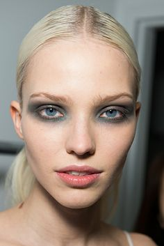 Minimal + Classic: Backstage beauty at Derek Lam Autumn 2014